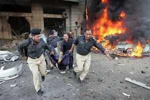 Τουλάχιστον πέντε νεκροί από βομβιστική επίθεση στο Πακιστάν