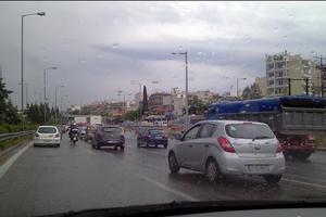 Ομαλά διεξάγεται η κυκλοφορία στην Αθηνών-Λαμίας