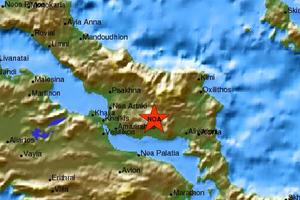 Διπλή σεισμική δόνηση στην Εύβοια