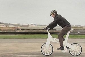 Ποδήλατο βγαλμένο από τον εκτυπωτή