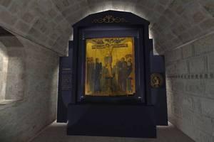 Η εικόνα του Ελκόμενου Χριστού επέστρεψε... σπίτι της