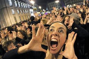 Στην πλατεία και οι «αγανακτισμένοι» Πυργιώτες