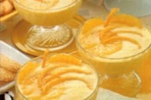 Μους με πορτοκάλι