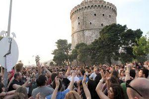Στην Αθήνα οι Αγανακτισμένοι της Θεσσαλονίκης