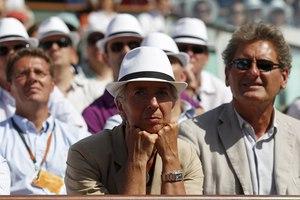 Σε αγώνα τένις η υποψήφια κυρία ΔΝΤ