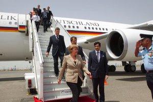 «Μπλόκο» Ιράν σε αεροπλάνο της Μέρκελ