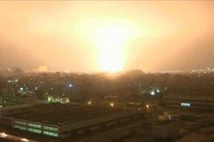 Μαχητικά του NATO πλήττουν το αρχηγείο του Καντάφι