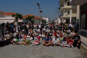 Οι μαθητές στην Κάρυστο αγωνίζονται για το σχολείο τους