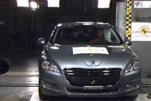 Peugeot 508 με κορυφαία ασφάλεια!