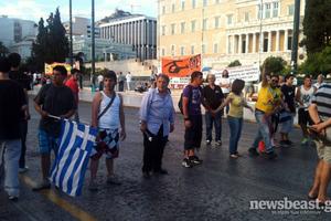 Επιστρέφουν οι Αγανακτισμένοι στην πλατεία