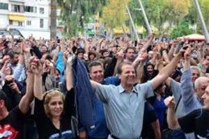 Αποχώρησαν ειρηνικά οι Αγανακτισμένοι του Ηρακλείου
