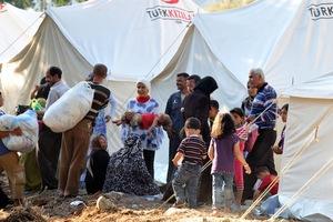 Ξεπερνούν το 1,5 εκατομμύριο οι πρόσφυγες από τη Συρία