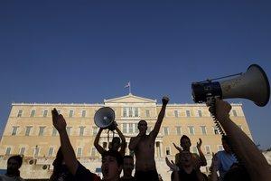 Πορεία Αγανακτισμένων από την Τρίπολη στο Σύνταγμα