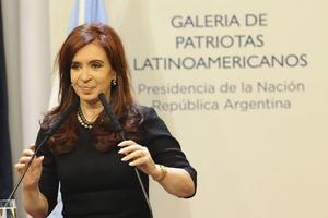 Υποψήφια και για δεύτερη θητεία η πρόεδρος της Αργεντινής