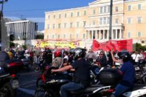 Πρόσκληση για κάθοδο των Μοτο-Αγανακτισμένων στην Αθήνα