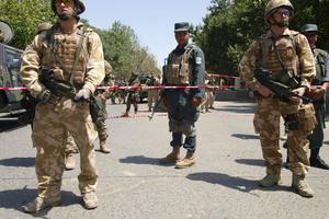 Στο στρατό η ασφάλεια του Αφγανιστάν