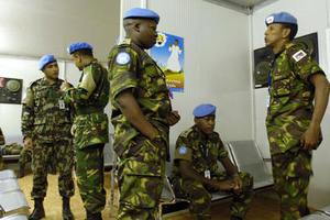 Απεργούν οι κυανόκρανοι στο Σουδάν