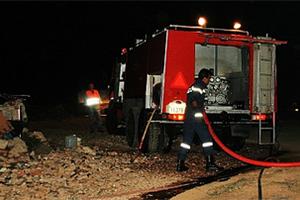 Υπό μερικό έλεγχο τέθηκε η πυρκαγιά στην Άνδρο