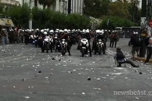«Προκαλούσαν τους διαδηλωτές»