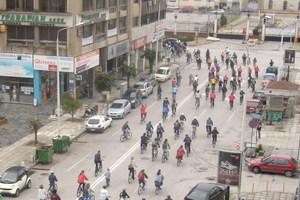 Σύσκεψη με τους ποδηλάτες στη Θεσσαλονίκη