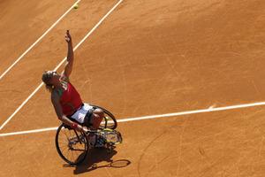 Η καλύτερη τενίστρια σε αναπηρικό καροτσάκι