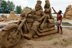 Έργα τέχνης από άμμο