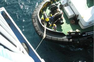 Αποκολλήθηκε το φορτηγό πλοίο που προσάραξε στη Λευκάδα