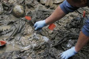 Εκταφή σε ομαδικό τάφο της Κροατίας