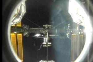 Συνδέθηκε με το Διεθνή Διαστημικό Σταθμό το «Ατλαντίς»