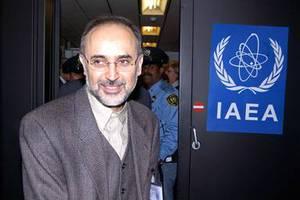 Συνάντηση του Σαλεχί με τον επικεφαλής της IAEA