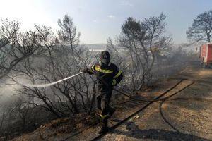 Υπό έλεγχο η φωτιά στην Κουμουστά Λακωνίας