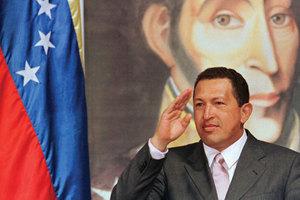 Στη Βενεζουέλα ο Τσάβες