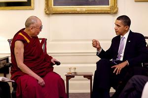 Συνάντηση με τον Δαλάι Λάμα είχε ο Ομπάμα