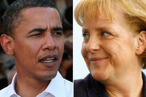 Συνομιλίες Ομπάμα - Μέρκελ