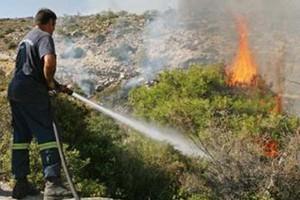 Πυρκαγιά στη Νέα Ζωή Ασπροπύργου