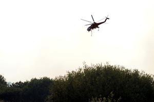 Ελικόπτερο θα βοηθήσει στη φωτιά στα Γιάννενα