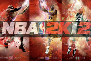 Το εξώφυλλο του NBA 2K12
