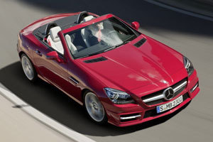 Η νέα Mercedes SLK55 AMG