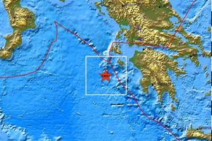Σεισμός 4,2 Ρίχτερ στο Ιόνιο