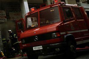 Πυρκαγιά σε υπόγειο κατάστημα στο Κερατσίνι