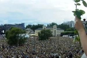 Χιλιάδες Νορβηγοί διαδήλωσαν κατά της βίας