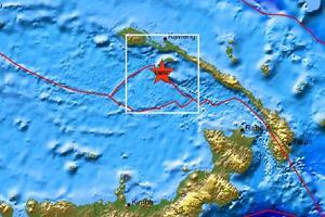 Ισχυρός σεισμός 6,3 Ρίχτερ στην Παπούα Νέα Γουινέα