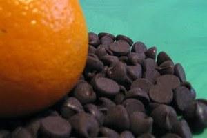 Σοκολατάκια με άρωμα πορτοκάλι