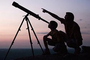 Παρακολουθώντας τον ουρανό από τηλεσκόπιο του Τέξας