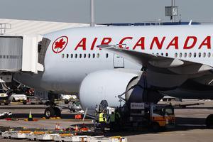 Πτήση θρίλερ της Air Canada