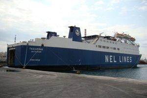 Δεμένο στο Λαύριο το πλοίο «Ταξιάρχης» λόγω επίσχεση εργασίας