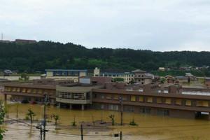 Μία νεκρή από τις πλημμύρες στην Ιαπωνία