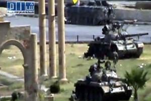 Άρματα μάχης εισέβαλαν στην πόλη Άλμπου Καμάλ