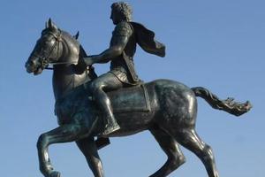 Τα αποκαλυπτήρια αγάλματος Μ. Αλεξάνδρου στην Πιερία