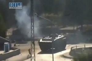Άρματα μάχης περικύκλωσαν πόλεις της Συρίας